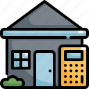 calculator, estate, home, hosue, house, property, real
