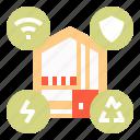 technology, home, wifi, smart, green, internet, energy