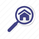 apartment, building, estate, house, property, real, search