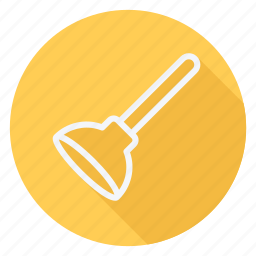 apartment, building, estate, house, monument, plunger, real icon