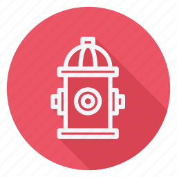 apartment, building, estate, fire hydrants, house, monument, real icon
