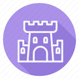 apartment, building, castle, estate, house, monument, real icon