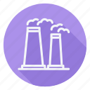apartment, building, estate, factory, house, mill, real icon