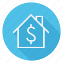 apartment, building, home, house, monument, real, sell icon