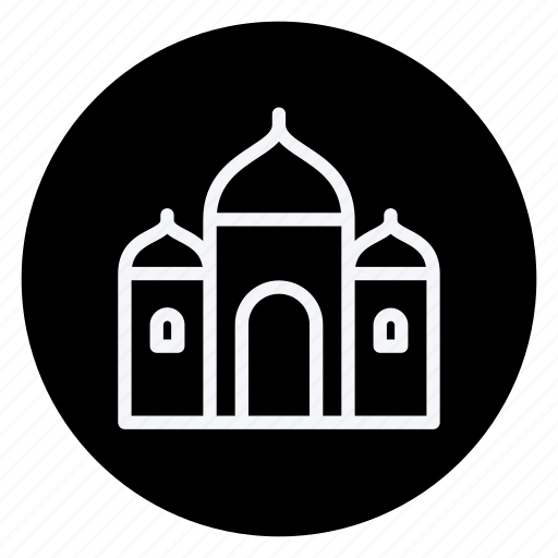 apartment, building, estate, house, monument, real, synagogue icon
