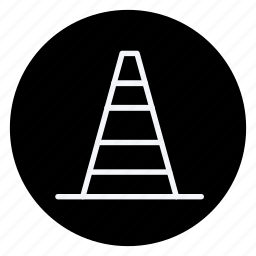 apartment, building, estate, house, monument, real, road cone icon