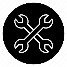 apartment, building, estate, house, monument, real, wrench icon