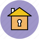 cottage, home, house, hut, property, real estate icon
