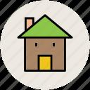 building, cottage, real estate, shop, store icon