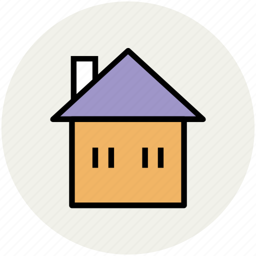 building, cottage, house, hut, real estate icon