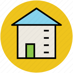 building, cottage, home, house, hut, real estate icon
