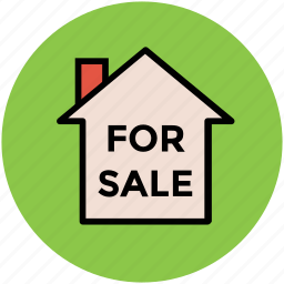 for sale, house, house for sale, property sale, real estate icon