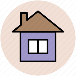 building, house, house building, hut icon