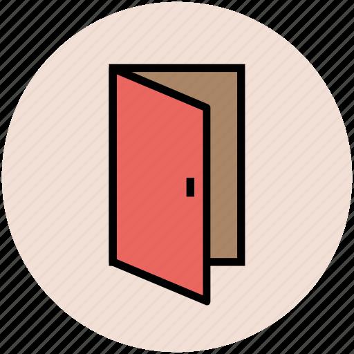 close, door, enter door, exit door, gate, open door icon