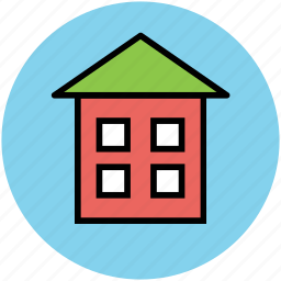 cottage, home, house, real estate, residency, residential cottage icon