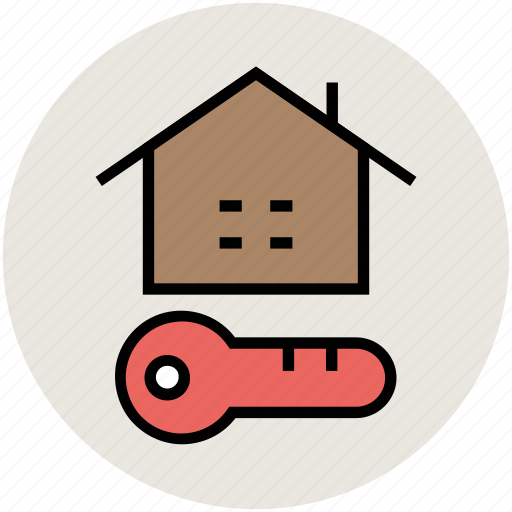 house key, key, locked, passkey, secure sign icon