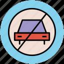 forbidden, no car park, no parking, not allowed, parking forbidden, parking restricted, restricted icon