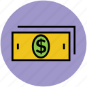 banknote, cash, currency, dollar, dollar sign icon