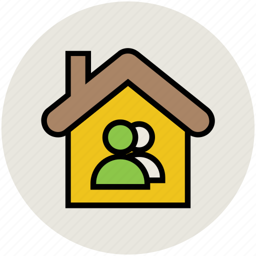 home, householders, owners, share holders icon