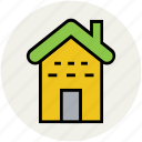 cottage, home, house, property, real estate icon