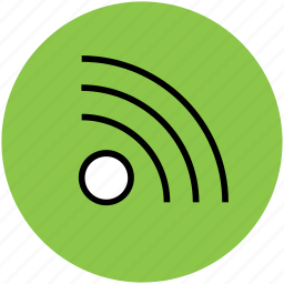rss, wifi, wifi connection, wifi signals, wireless internet icon