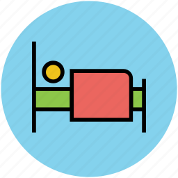 bed, bedroom, furniture, interior, single bed, sleeper icon