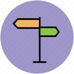 direction board, directions, guid directions, guideline, road directions, signpost icon