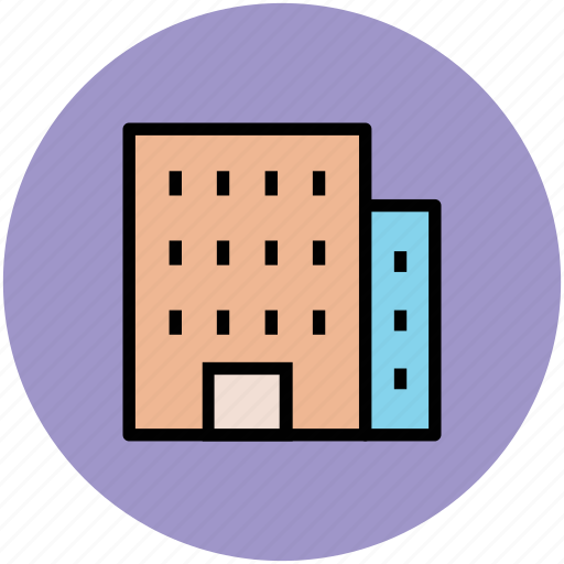 apartments, building, commercial building, flats, real estate icon