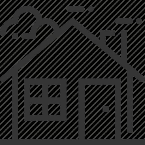 building, construction, home, house, property, rent, sale icon