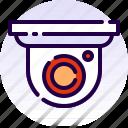 cctv, home, house, property, real estate, security camera, surveillance icon
