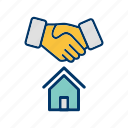 buy home, home key, housedeal, new home, new house icon