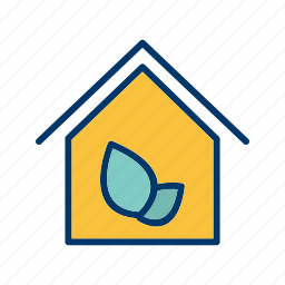 eco, eco home, ecological house, ecology, green house, house, passive house icon