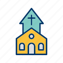 bible, christian, church, church building, jesus, worship icon