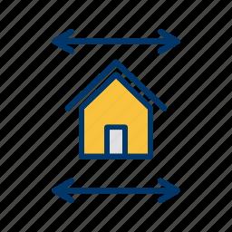 blue print, house plan home plan, new house plan, real estate blueprint.blueprint icon