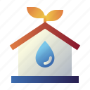 eco, ecology, home, house, nature, property, real estate icon