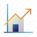growth, home, house, increase, profit, property, real estate