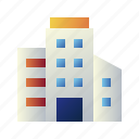 apartment, building, home, house, property, real estate, real estate office icon