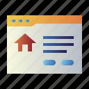 browser, home, house, online property, property, real estate, real estate website