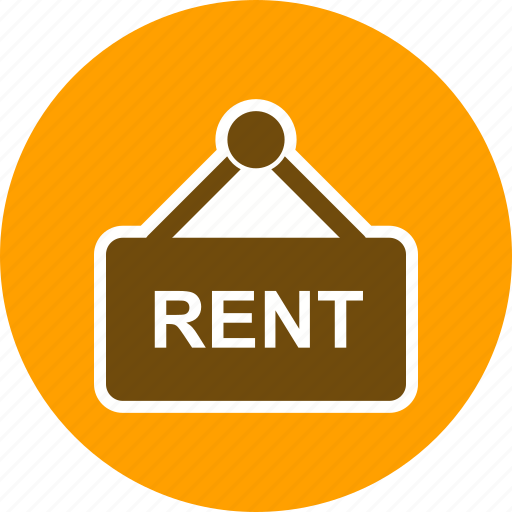 apartment, apartment for rent, pay rent, rent house, rent sign, rental, to let icon