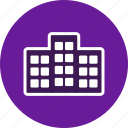 architecture, build, building, building blocks, building construction, office building icon
