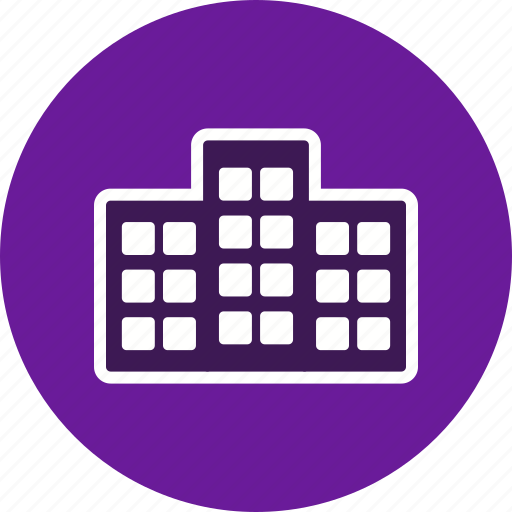 apartment, house, office icon