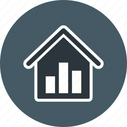 graph, real estate, statistics, stats icon