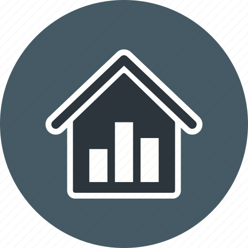 chart, data, graph, real estate stats, report, statistics, stats icon