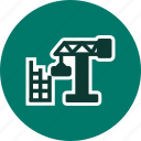 building, construction, site icon