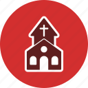 chapel, christian, church, church building icon