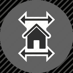 blueprint, house map, house plan, real estate blueprint icon