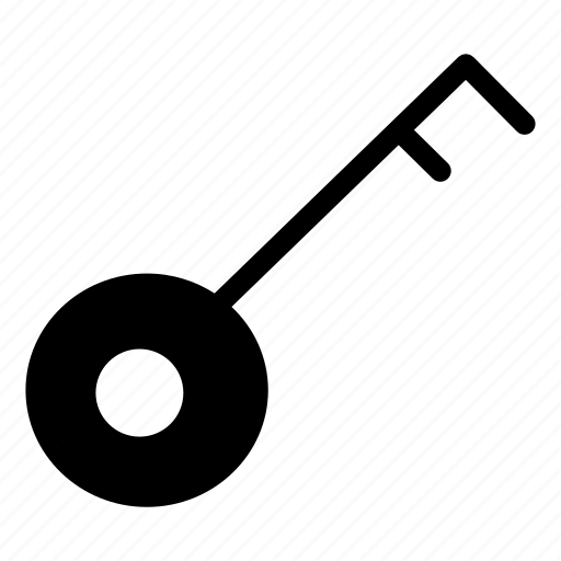 access, key, lock, office icon