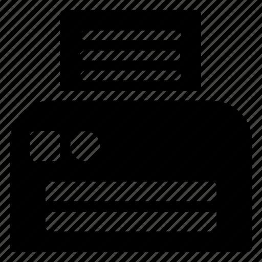 device, hipster, keyboard, typewriter icon