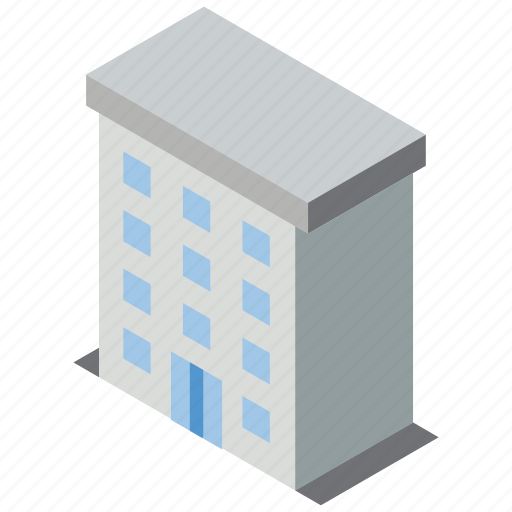 Appartments, building, iso, isometric, real estate icon - Download on Iconfinder