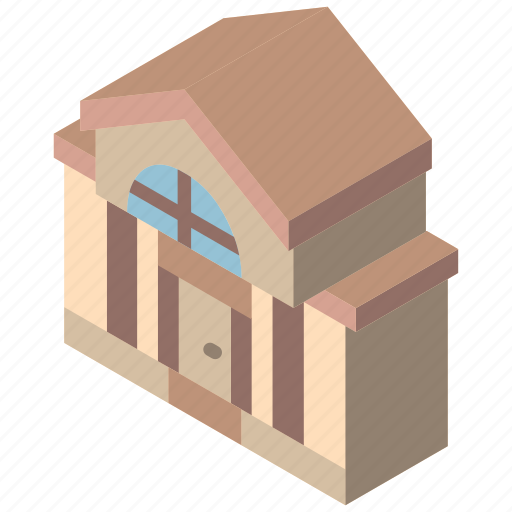 Building, iso, isometric, mansion, real estate icon - Download on Iconfinder